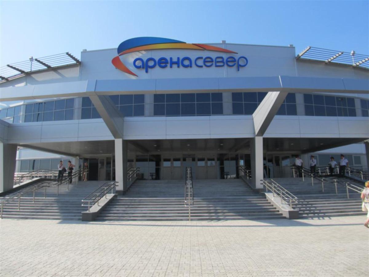 арена север схема зала