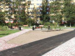 Благоустройство внутридворовой территории в Санкт-Петербурге