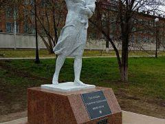В Ленинском районе Красноярска открыт символ памяти послевоенного восстановления страны