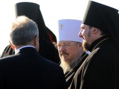 Патриарх Кирилл впервые прибыл в Красноярск