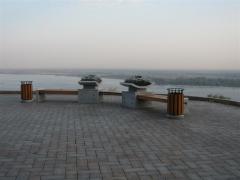 ГК «Стимэкс» осуществила поставку уличной мебели для планового благоустройства территории Нижегородского кремля