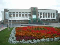 Благоустройство прилегающей территории к зданию Байкальского банка СБ России — Братского отделения № 2413