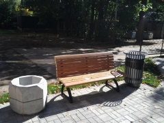 Предлагаем недорогую уличную мебель для ландшафтного дизайна частной застройки