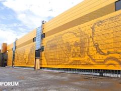 Территория конгрессно-выставочного центра «ЭКСПОФОРУМ» г. Санкт-Петербург будет благоустроена уличной мебелью ГК «Стимэкс».