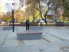 Благоустройство сквера Уют в Красноярске