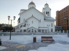 В Красноярске заканчивается строительство Старообрядческого храма.