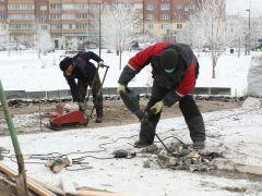 Начались работы по установке арт-объекта «Сердце Донора» в Красноярске
