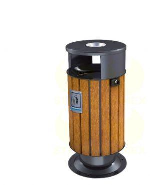 Металлическая урна для мусора U122 (У122)