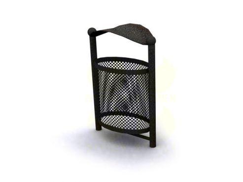 Металлическая урна для мусора U23 (У23)