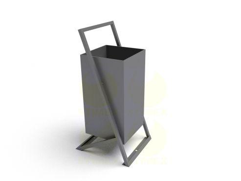 Металлическая урна для мусора уличная U251 (У251)
