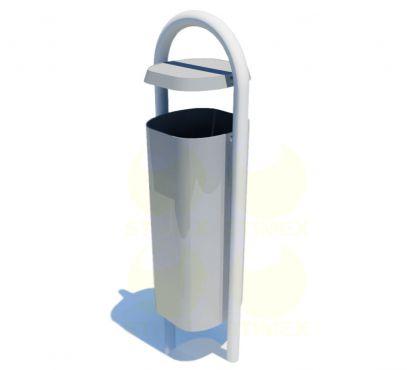 Металлическая урна для мусора U401 (У401)