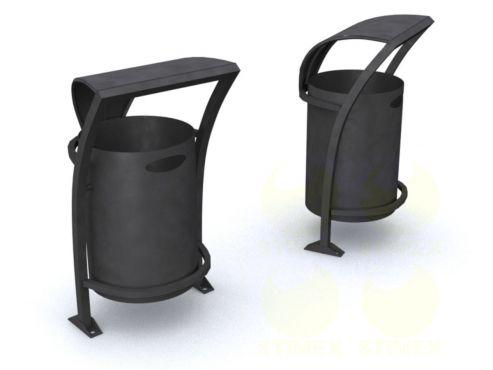 Металлическая урна для мусора U44 (У44)