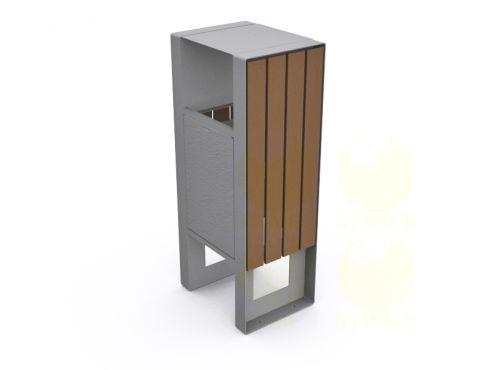 Металлическая урна для мусора U600 (У600)