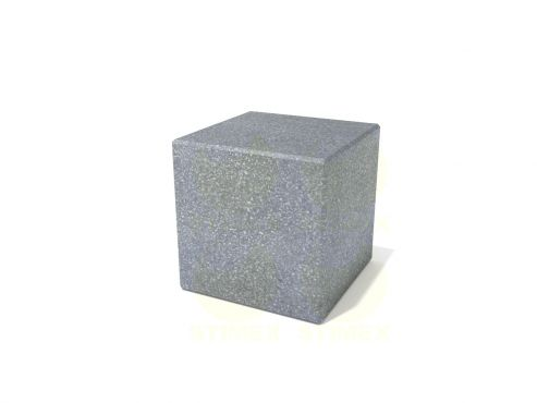 Столбик парковочный из бетона