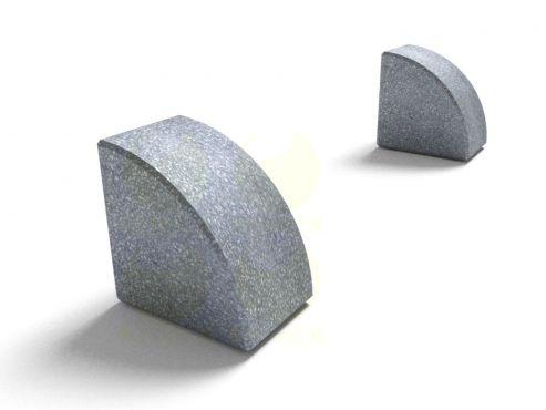 Столбик парковочный SDP37 (СДП37) из архитектурного бетона