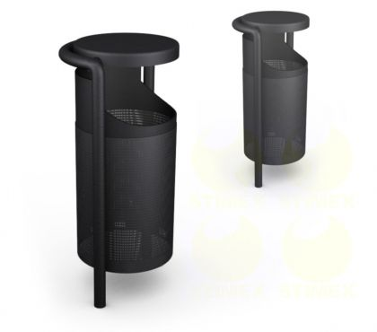 Металлическая урна для мусора U106 (У106)