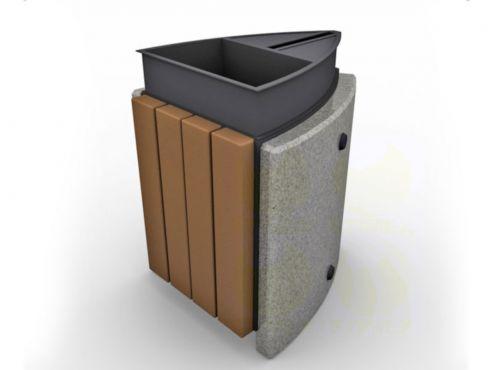 Урна для мусора уличная U10B (У10Б)