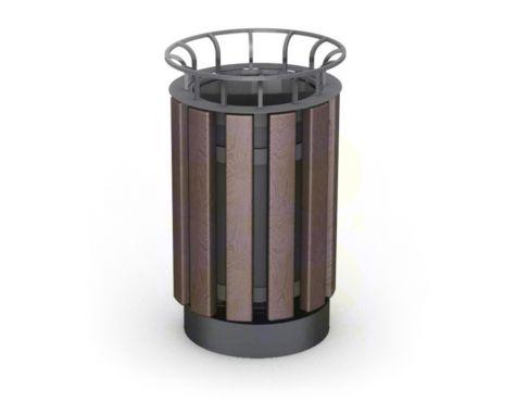 Металлическая урна для мусора U11M5 (У11М5)