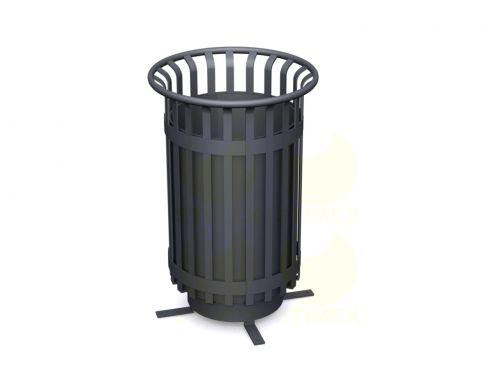 Металлическая урна для мусора U124 (У124)
