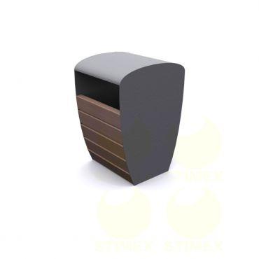 Металлическая урна для мусора U452 (У452)