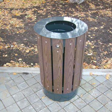 Металлическая урна для мусора U650 (У650)