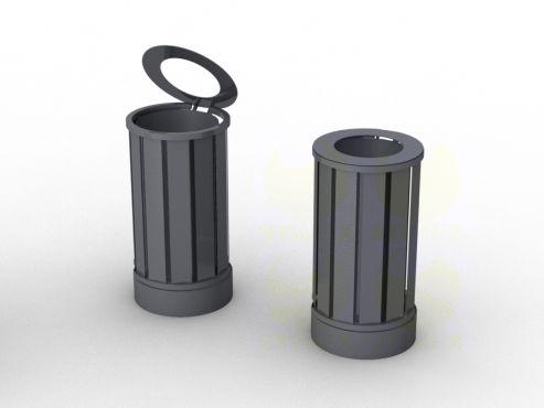 Металлическая урна для мусора U651 (У651)