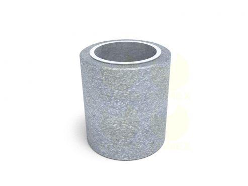 Урна для мусора уличная U750 (У750) с элементами из архитектурного бетона
