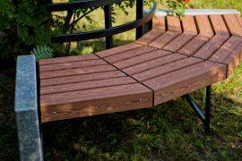 Уличная мебель ГК Стимэкс с использованием натурального гранита