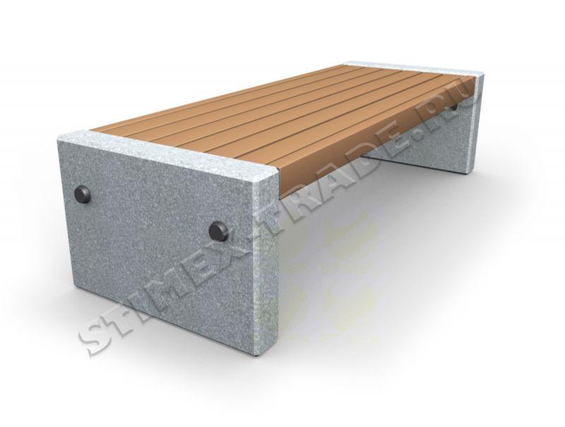 Скамья из бетона купить купить недорогой бетон в ленинградской области