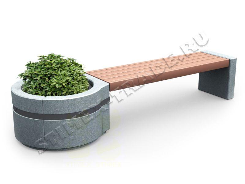 Скамья из бетона купить купить бетон шексна