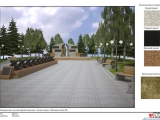 В селе Ванавара Красноярского края ведутся работы по реконструкции Аллеи Славы
