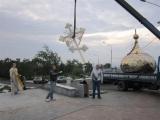 На часовню Параскевы Пятницы в Красноярске установлен отреставрированный купол