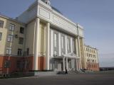 Закончены работы по реконструкции входной группы Красноярского государственного медицинского университета