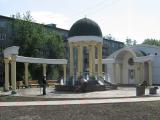 Благоустроен сквер у ЗАГСа Советского района города Красноярска