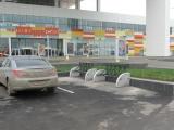У торгово-развлекательного комплекса «Планета» установлены велопарковки серии «Спорт» (г. Красноярск)