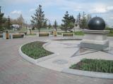 Замена уличной мебели на площади Мира перед Большим концертным залом, Красноярск