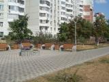 Установкой уличной мебели завершилось  благоустройство Жулебинского бульвара г. Москвы