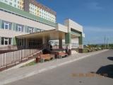 Выполнена установка уличной мебели на территории центральной городской больницы г. Сосновоборска Красноярского края.