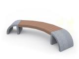 Запущены в серийное производство новые скамейки с бетонными боковинами.