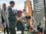 В поселке Светлый Омской области заложен мемориальный камень в память о погибших десантниках