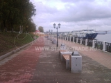 Набережная реки Волги в Костроме