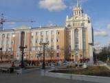 Благоустройство площади перед зданием правительства республики Бурятия