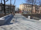 Благоустройство сквера имени Суханова во Владивостоке