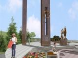 Проект сквера в честь 70-летия Победы в Великой Отечественной войне