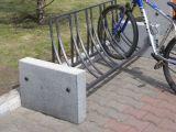 Велопарковка V2 (В2) с элементами из архитектурного бетона