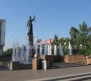 Сквер перед зданием Краевого суда