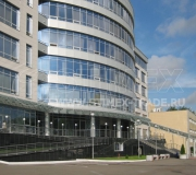 Территория делового центра «Калибр» в Москве