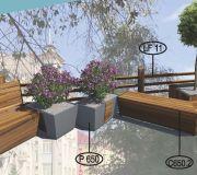 Парклет №6 для создания комфортной городской среды.