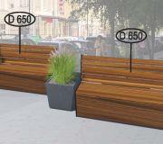 Парклет №7 для создания комфортной городской среды.